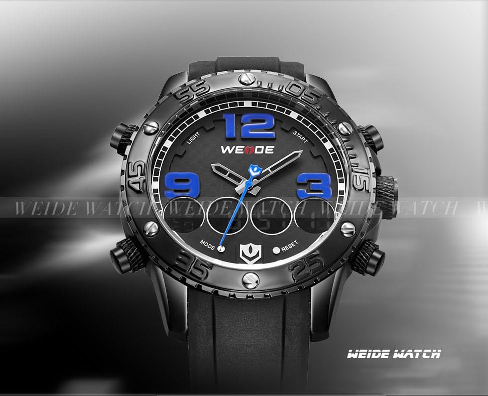 eca733fa251 ③WEDIE Marca de Luxo Esporte Relógios Para Homens Resistência À ...
