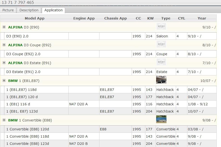 D/'air couteau Quantité d/'air couteau pour BMW 116d 118d 120d 123d 316d 318d 320d