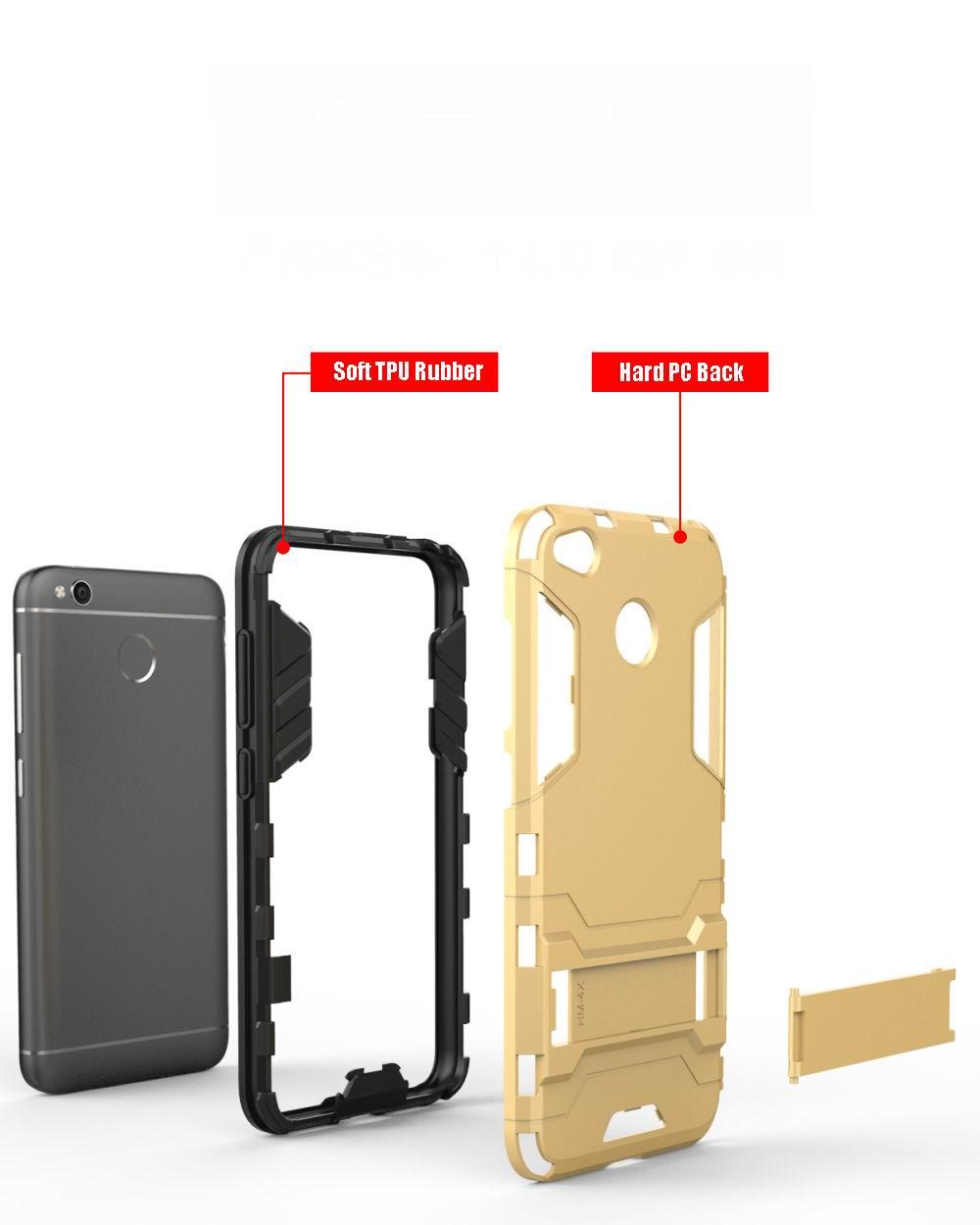 Kindamart Case For Xiaomi Redmi 4x Kickstand Slim Light Hybrid 4a Transformer Robot Standing 4031356121 670111155 4030550683 4016204489 1764851043 4033701068 Click Here