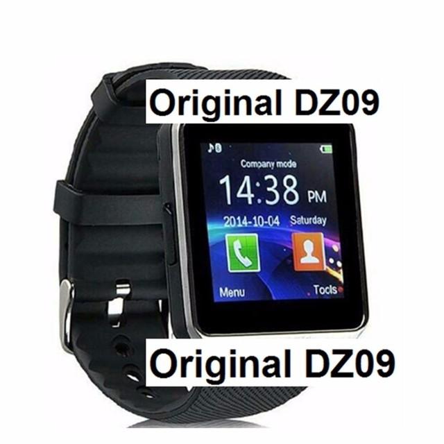 2016 Горячие Smart Watch DZ09 Часы SIM/TF для Android Iphone камера Bluetooth Наручные Часы Smartwatch Телефон PK GV18 GT08 GV09 M26 U8