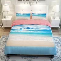 Sunset Ocean/Blue Sea/Sandy beach/Lake Scenic Bedding Sets
