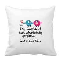Popular Husband Pillow Cover