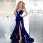 Royal Blue Long Dresses for Women