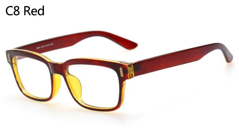 Cuadrado de la vendimia gafas mujeres miopía ordenador gafas marco marca  diseñador Plain óptica gafas de grau 319a852892