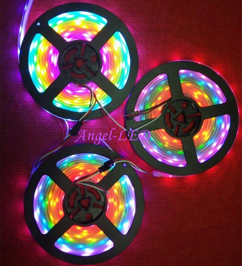 5m-roll-DC12V-ws2811ic-SMD5050-RGB-led-strip-dream-addressable-Digital-30-48-60leds-1-ic1