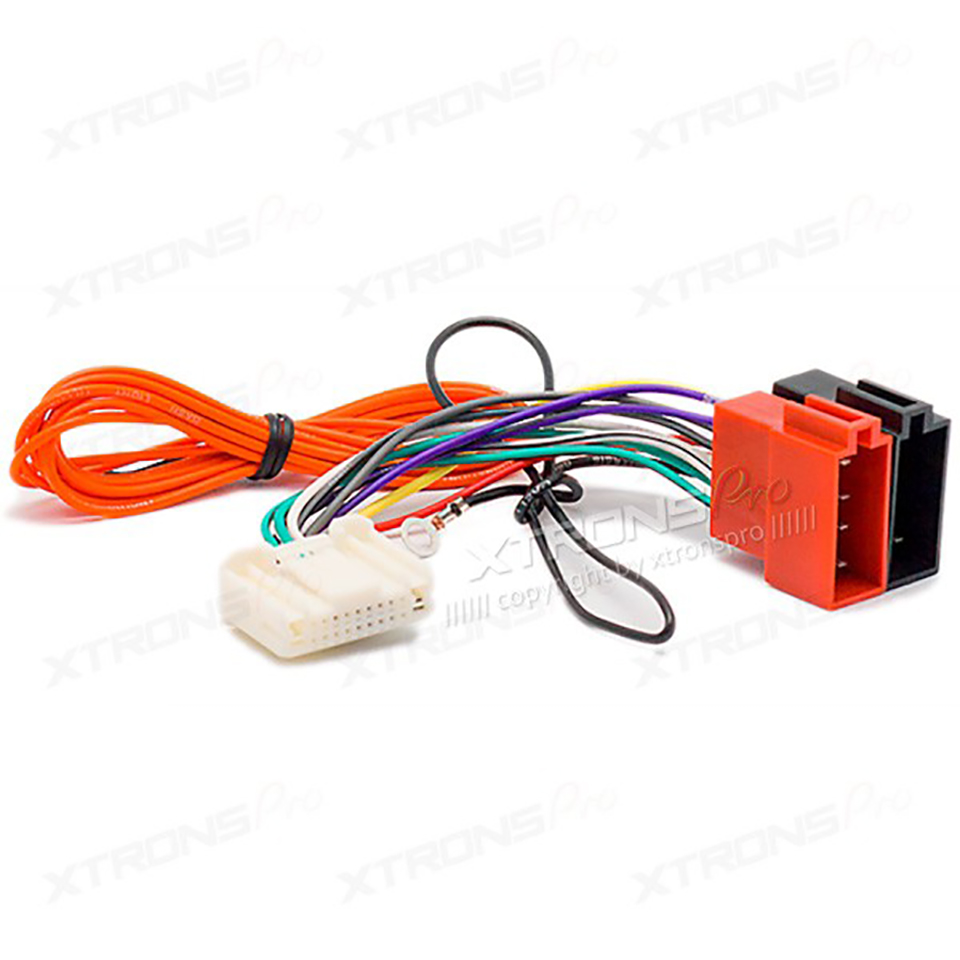 hight resolution of car radio stereo iso wiring harness adapter for nissan 2007 subaru