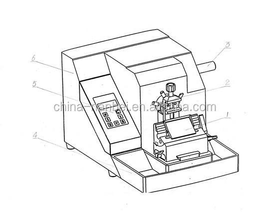 Yd-335 Semi Automatic Microtome Knife With The Cheapest