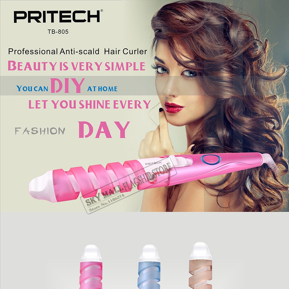 Pritech Professional Plastic Hair Curling Iron Electric Magic Toy Circuit Board Buy Rc Helicopter Pcbelectronic Circuittoy Tb 805 01