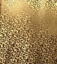 Gallery For > Gold Leaf Pattern Wallpaper