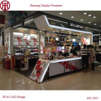 Mall cosmetic lipstick kiosk for sale, View lipstick kiosk ...