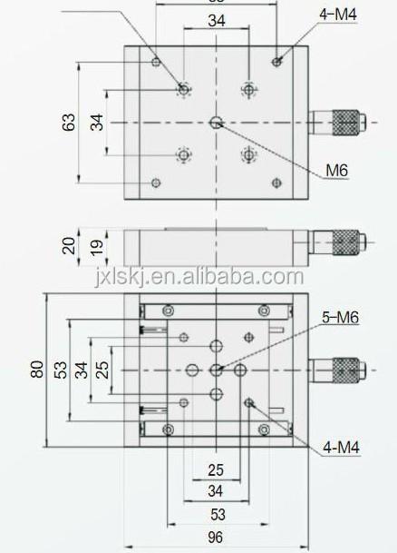 Lssp-25jv Manual Micrometer Manual Positioning System