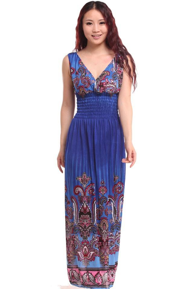 Asombroso Profundos Azules Vestidos De Dama Composición - Ideas para ...