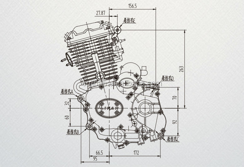 Lifan 200cc tricycle engine for tricycle 200cc, View 200cc