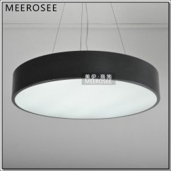 Hanging Light Fixtures Living Room Round Swivel Chair Led Circle Pendant Lamp,modern Md3220 ...