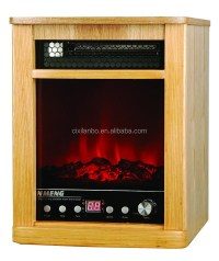 Wooden Fireplace 1500w 5120btu Lm-m15p01 Electric ...