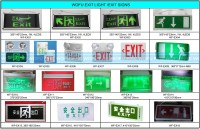 Emergency Exit Sign,Portable Led Exit Sign Lamp - Buy Exit ...