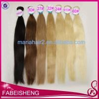 Prix usine extensions de cheveux blonds 33 # 27 # cheveux ...