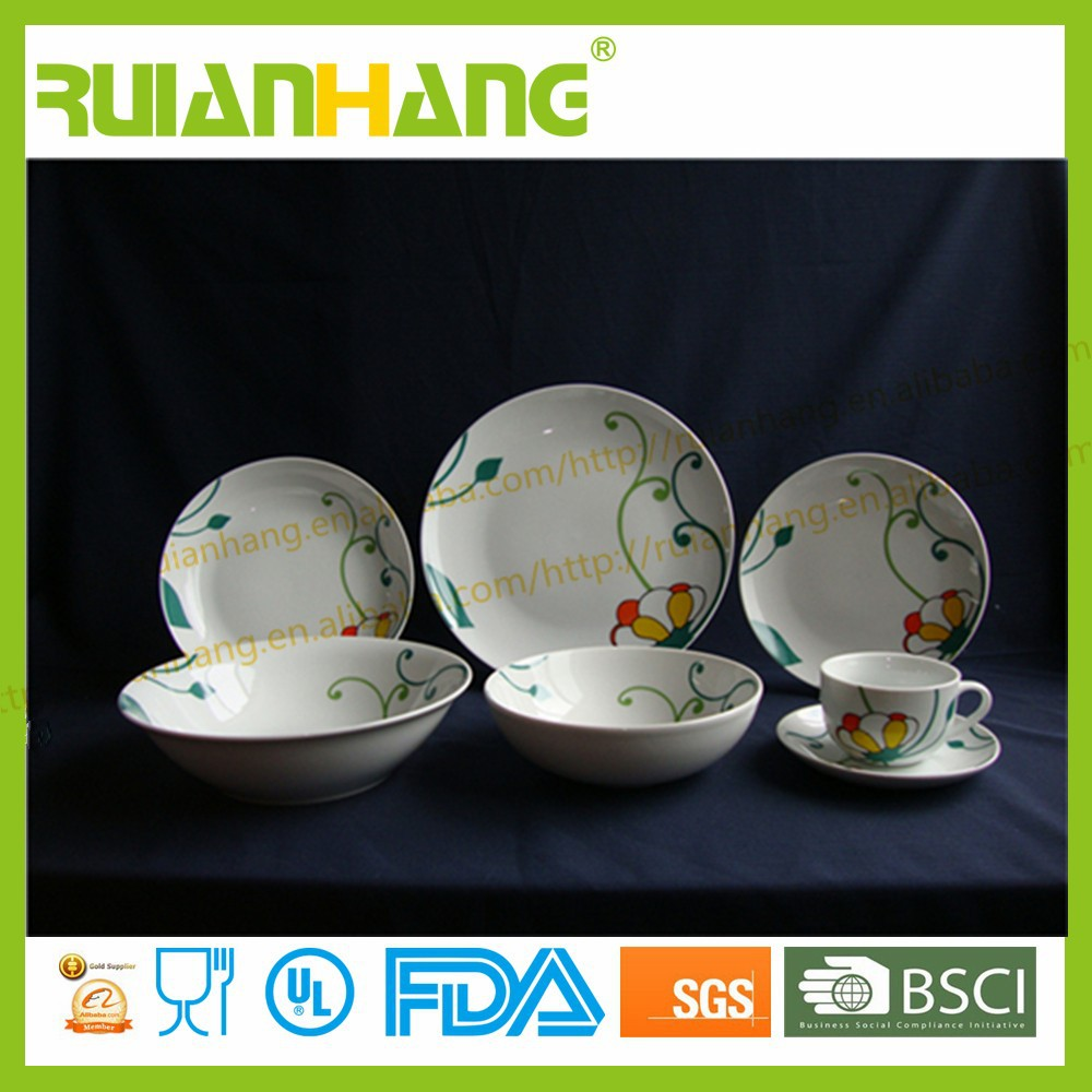 Porcelain Mexican Dinnerware Sets,Logo Dinnerware
