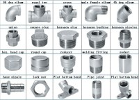 Stainless Steel Pipe Fittings Bsp Threaded 1/2 Inch Lock ...