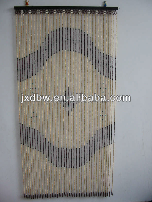 Wholesale Decorative Bamboo Beaded Door Curtain