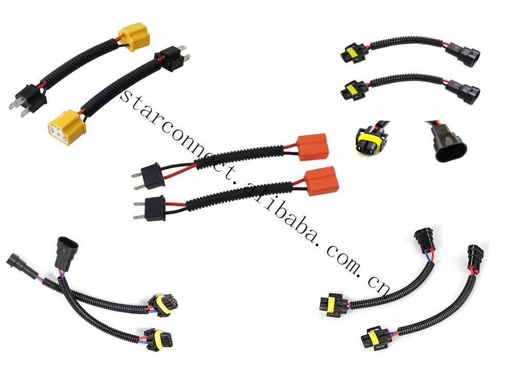 Ul Approved Hid Light Auto Wire Harness Automotive Light