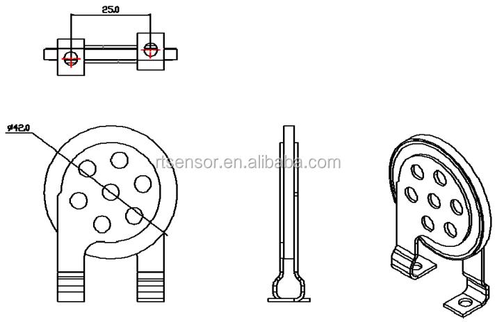 40KA High Current Voltage Dependent Resistor Disc Varistor