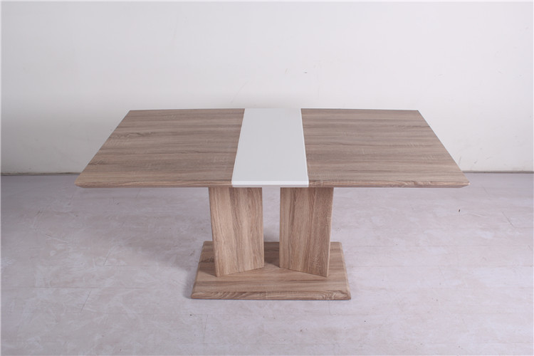 cheap modern wood extendable dining table design