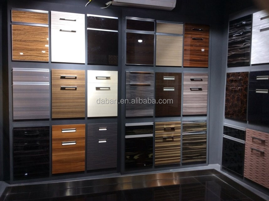 Comfortable Pvc Laminate Mdf Kitchen Cabinet Doormade In China Buy