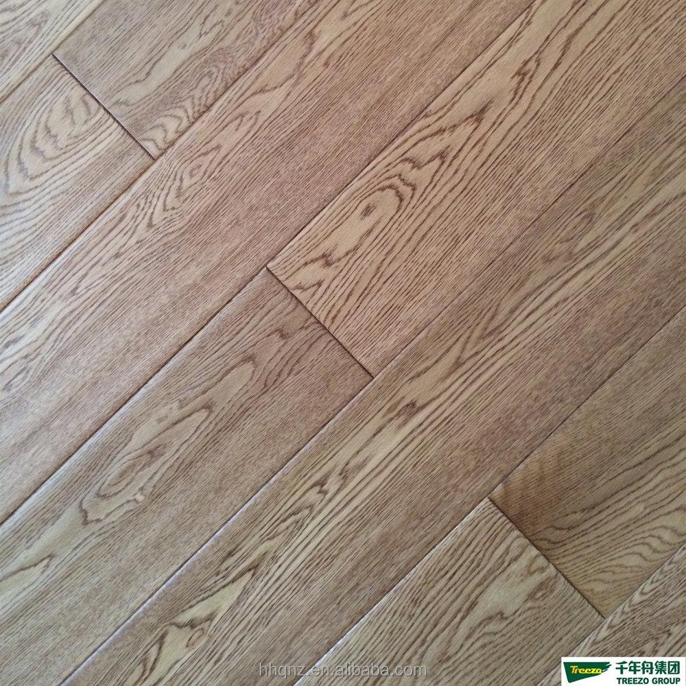Rustic White Oak Engineered Wood Flooring (handscraped
