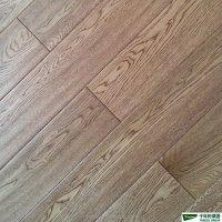 Rustic White Oak Engineered Wood Flooring (handscraped ...