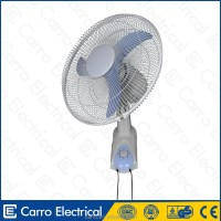 New popular style 12v solar rechargeable wall mounted fan ...