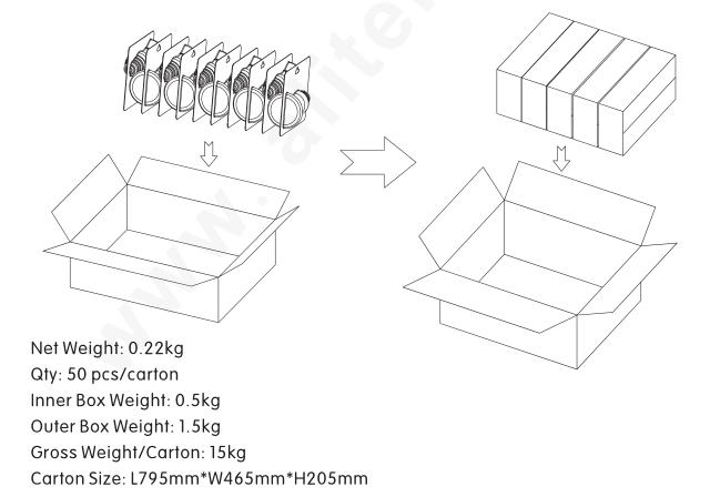 UL Plug & Vertical Indoor Light G60 108LM/W LED Pl Light