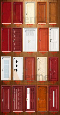 Used Home Mahogany Wood Front Main Door Designs Double ...