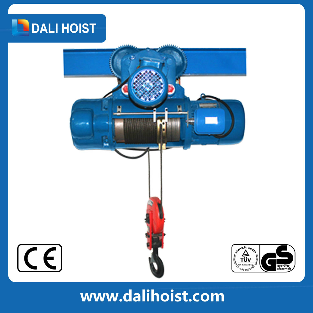 hight resolution of 80t european type electric wire rope hoist used on crane in