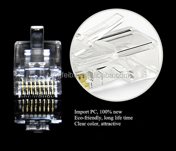 Cat 6 Wiring Diagram Rj45 8p8c Plug Connector For Solid Cat5e Wire