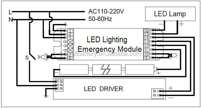 emergency light wiring diagram non maintained wiring diagram emergency lighting diagram diynot forums 1987 mustang