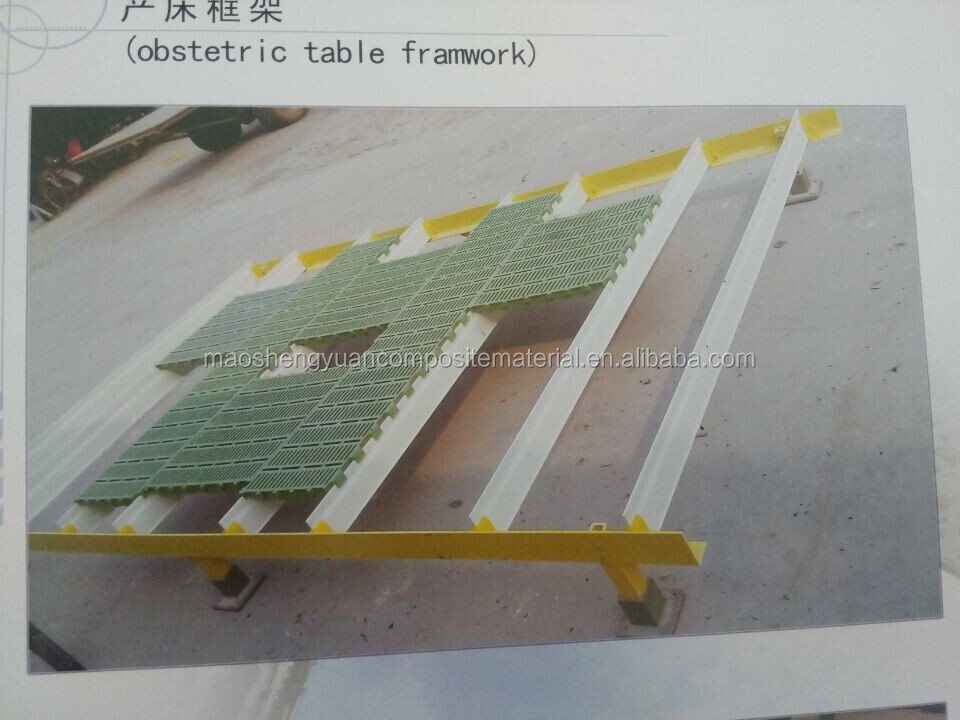 Glass Fiber Reinforced Plastic Floor Beam