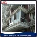 Design pvc sliding window for villa view american window grill design
