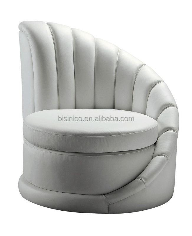 Bisini Postmodern Single Round SofaModern Furniture