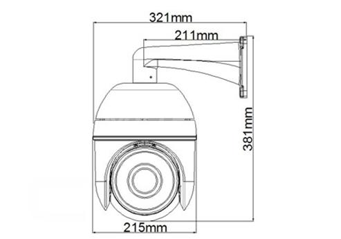 Cctv 36x Optical Zoom Lens Ir High Speed Ptz Cameras Auto