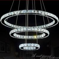 Crystal 4-light Round Ceiling Chandelier - Contemporary ...