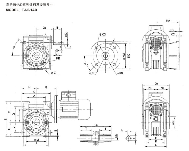 Chinese transmission gearbox motor,reduction gearbox, View