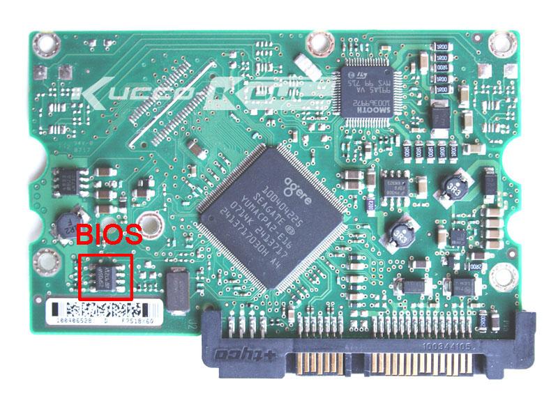 KIMME Hard Drive Parts PCB Logic Board Printed Circuit Board 100512588 for Seagate 3.5 SATA HDD Data Recovery Hard Drive Repair