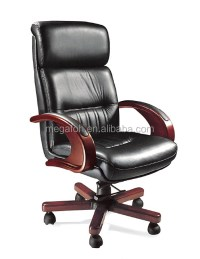 Classic Black Leather Chair Executive Office Furniture ...