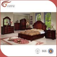 Wholesale solid wood king size bedroom set WA137 - Alibaba.com