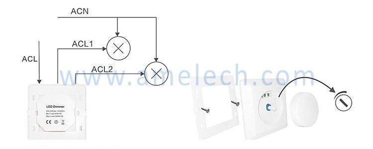 For Led Lights Small Eu European German 220v 230v 250w
