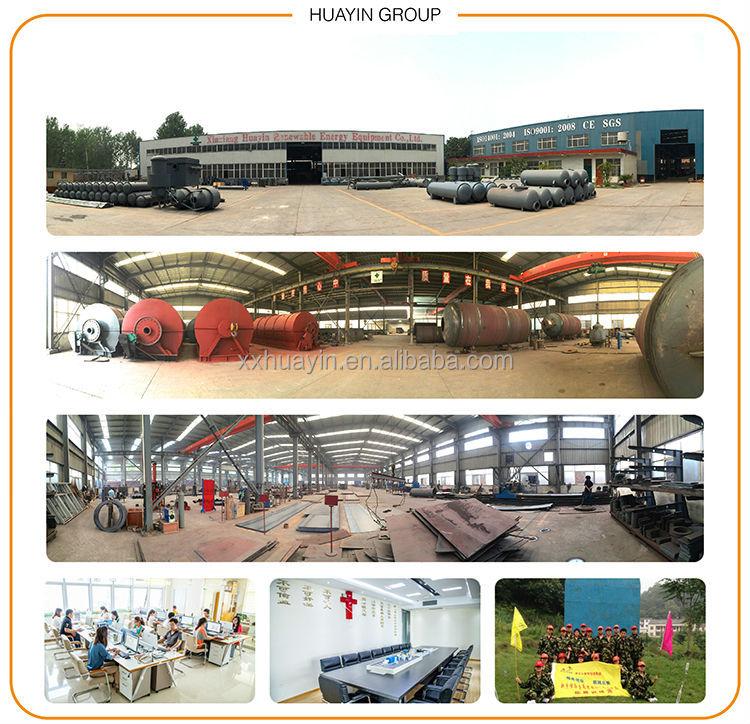 HUAYIN BRAND 5th generation pyrolysis recycling plant
