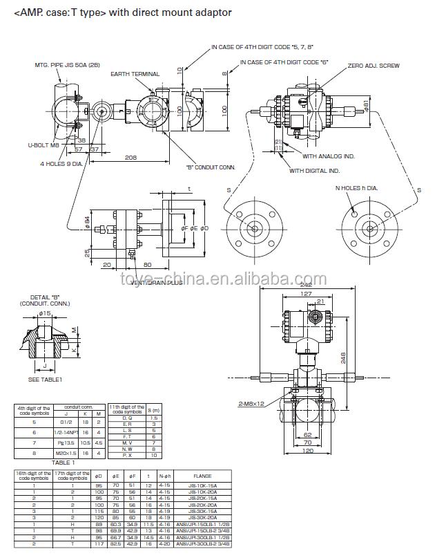 Fuji Differential (dp)pressure Sensor For Liquid,Gas,Vapor