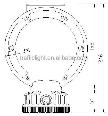 Water Temperature Warning Light Tachometer Warning Light