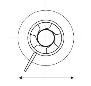 Hot Sale Circular Type Iris Air Volume Control Damper